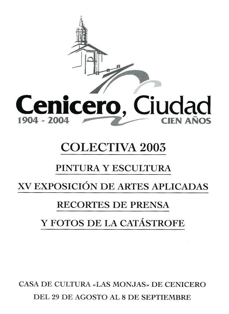 Colectiva 2003 - Pako Campo