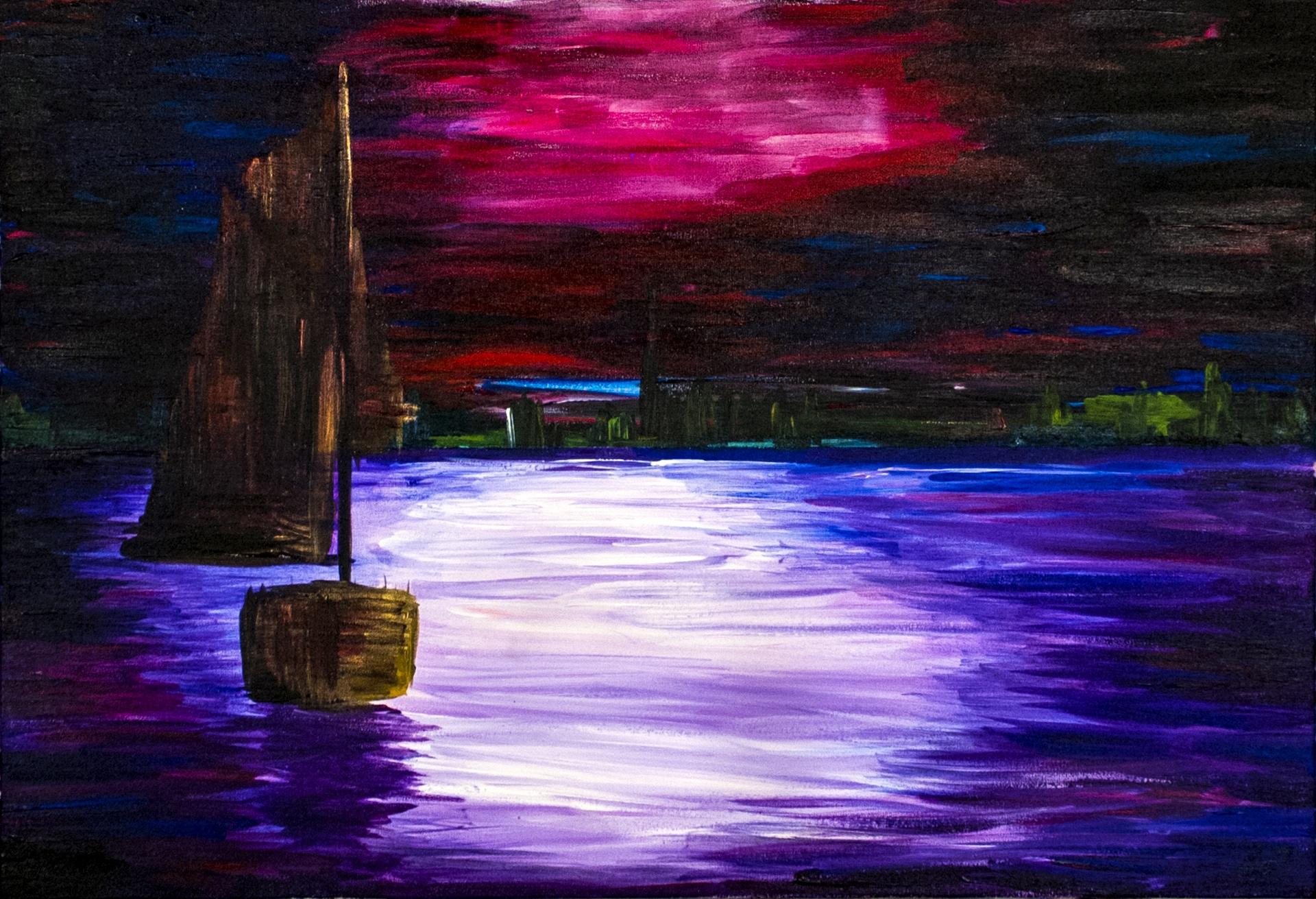 Volendam — Acrylic art