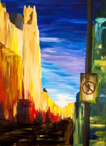 Gran Via without Humans (2011) by Pako Campo