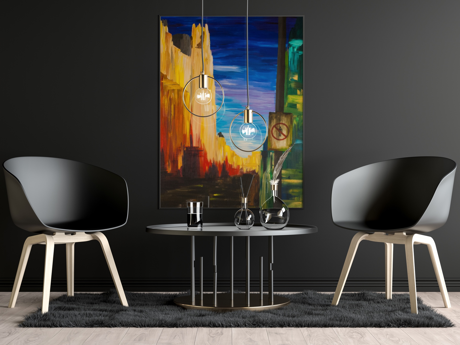 Gran Via without Humans - Limited edition giclée print by Pako Campo
