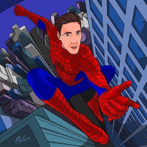 Spider Pablo by Pako Campo