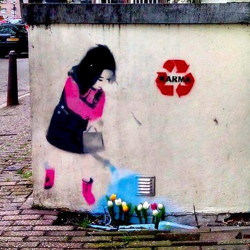 Banksy Amsterdam - Pako Campo