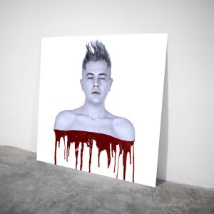 Bloody Velvet - Visual art on acrylic glass by Pako Campo