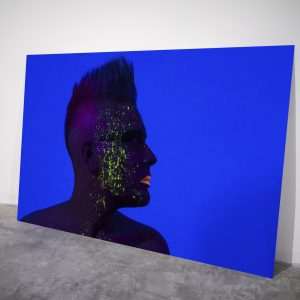 Shine in the Dark - Visual art on acrylic glass by Pako Campo