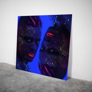 Upside Down - Visual art on acrylic glass by Pako Campo
