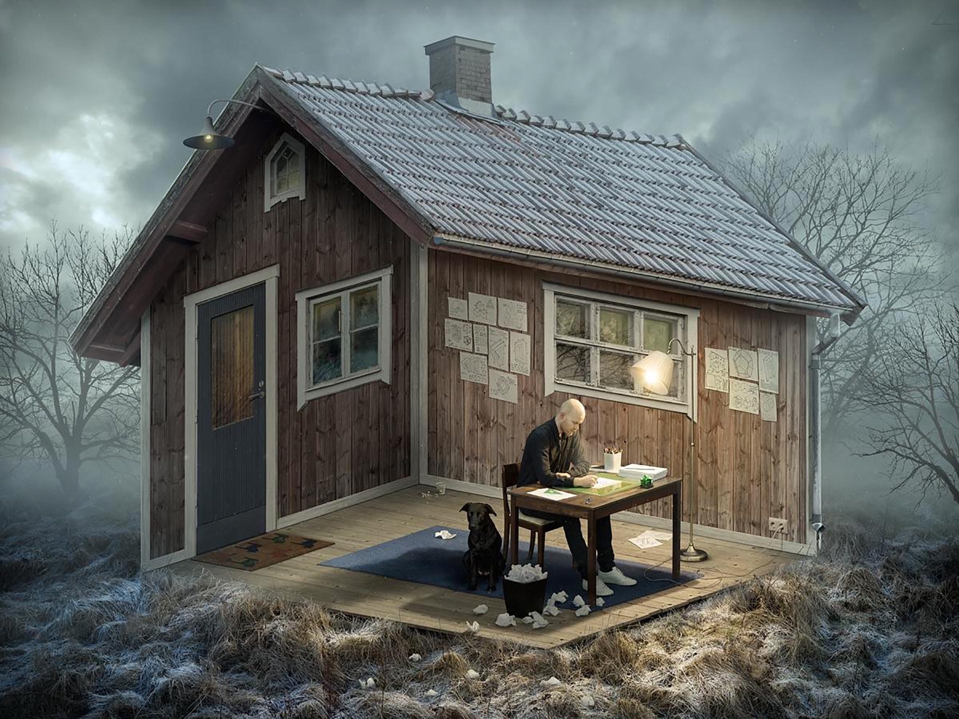 The Architect (2015) by Erik Johansson - Pako Campo