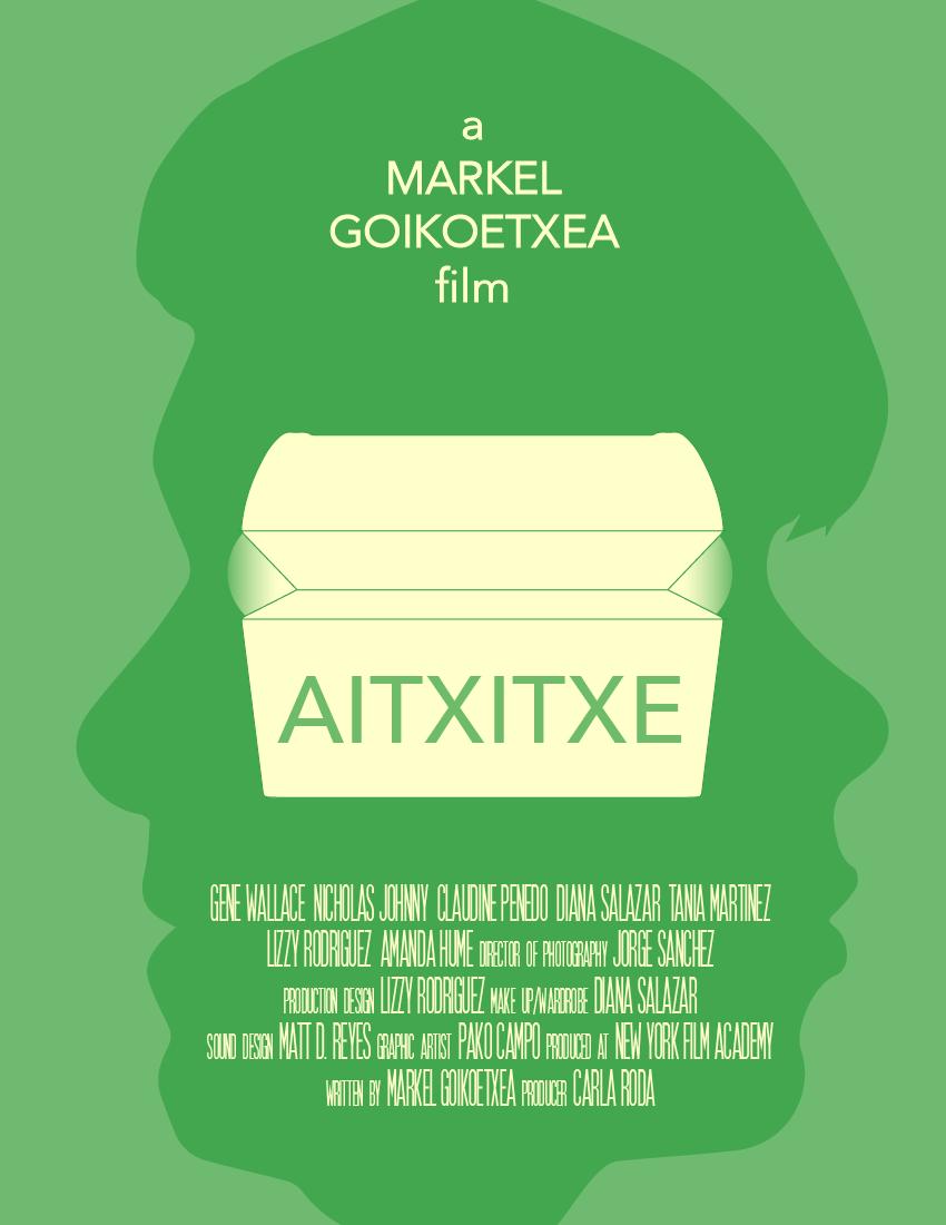 Aitxitxe — Film poster design