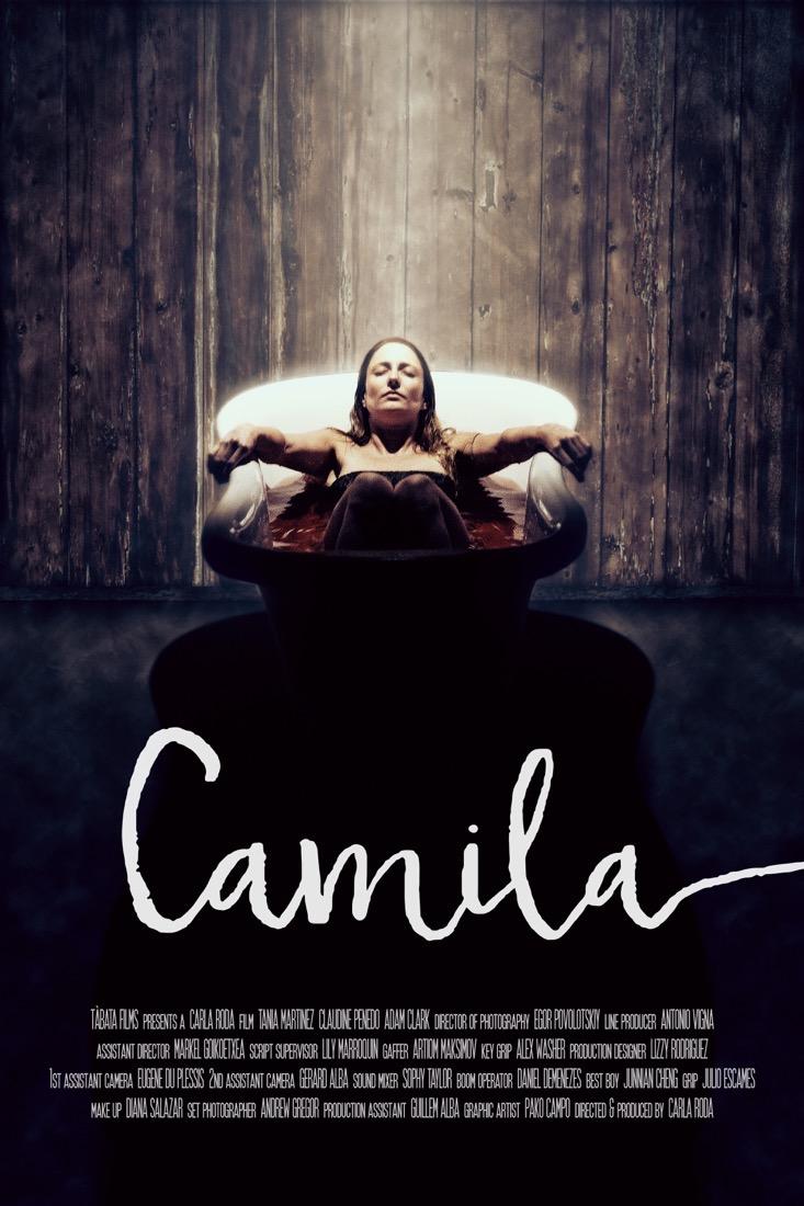 Camila — Film poster design