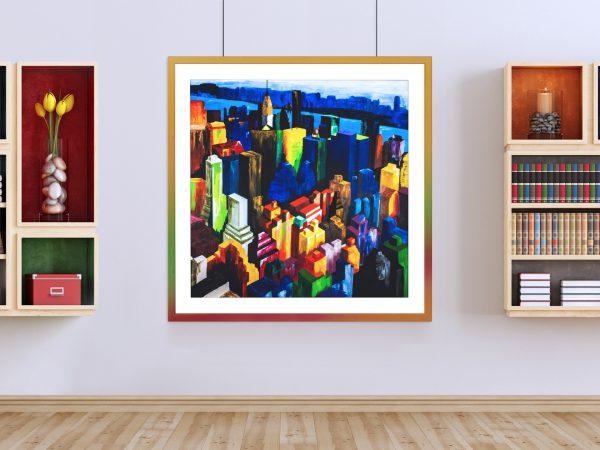 Rainbow Empire - Limited edition giclée print by Pako Campo