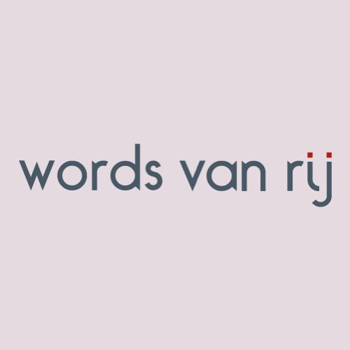 Words van Rij by Pako Campo