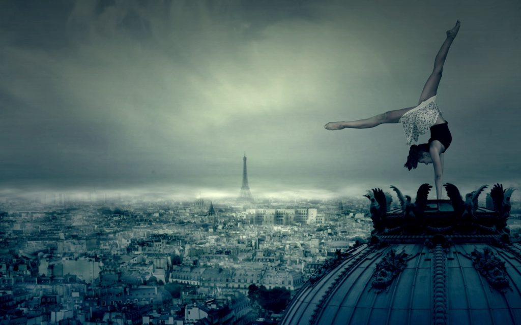 Dancing over Paris by Pako Campo