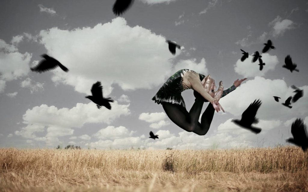 Dancing with Crows by Pako Campo
