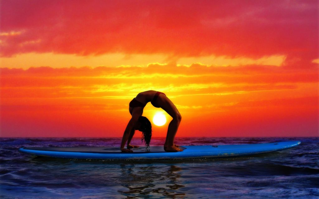 Surfing by Pako Campo