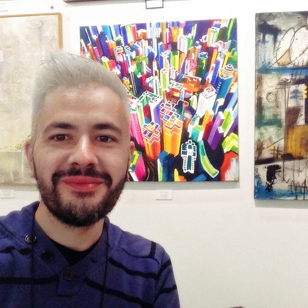Last day of Artexpo New York 2017 - Pako Campo