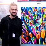 Diario La Rioja. El artista riojano Pako Campo expone en Nueva York