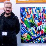 WorldNews. El artista riojano Pako Campo expone en Nueva York