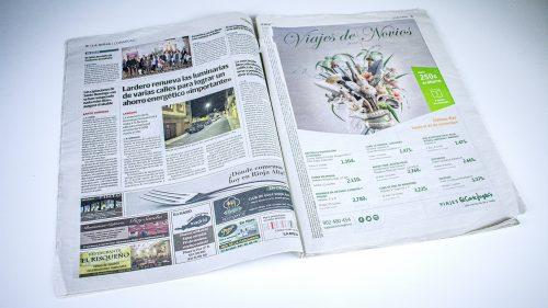 Diario La Rioja. El Salón de Otoño de Cenicero, en marcha (Printed edition)