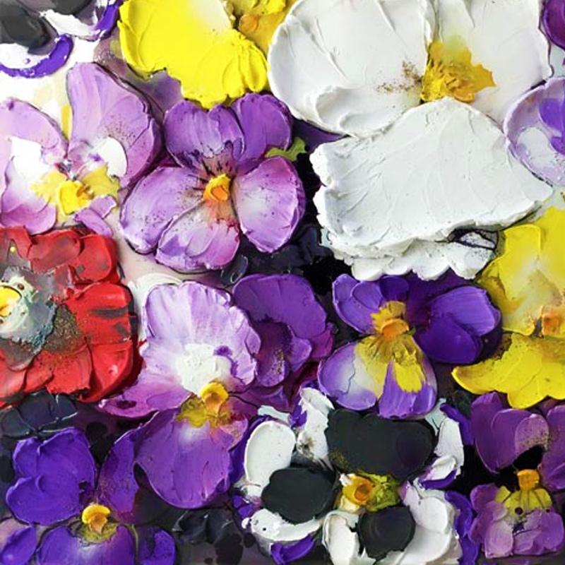 Delicate violets - Nicoletta Belletti