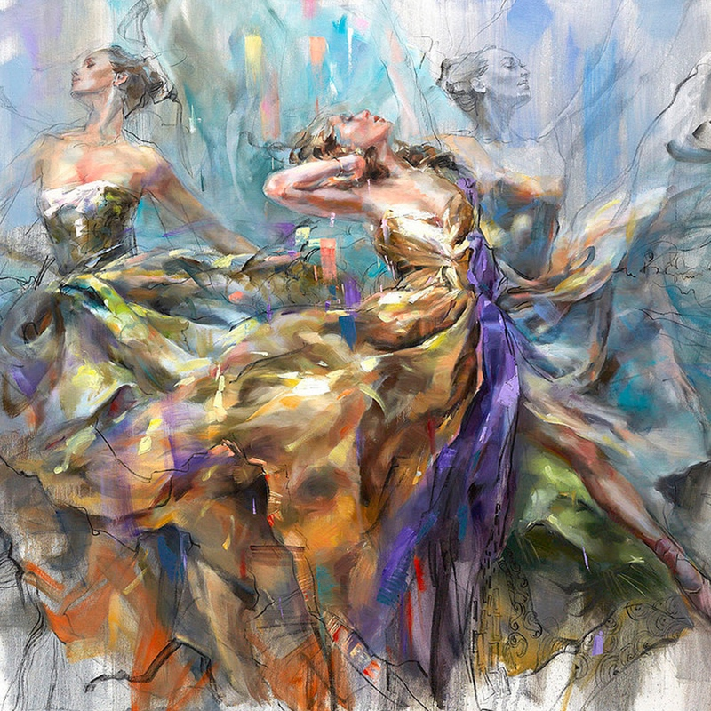 Loving the spin - Anna Razumovskaya
