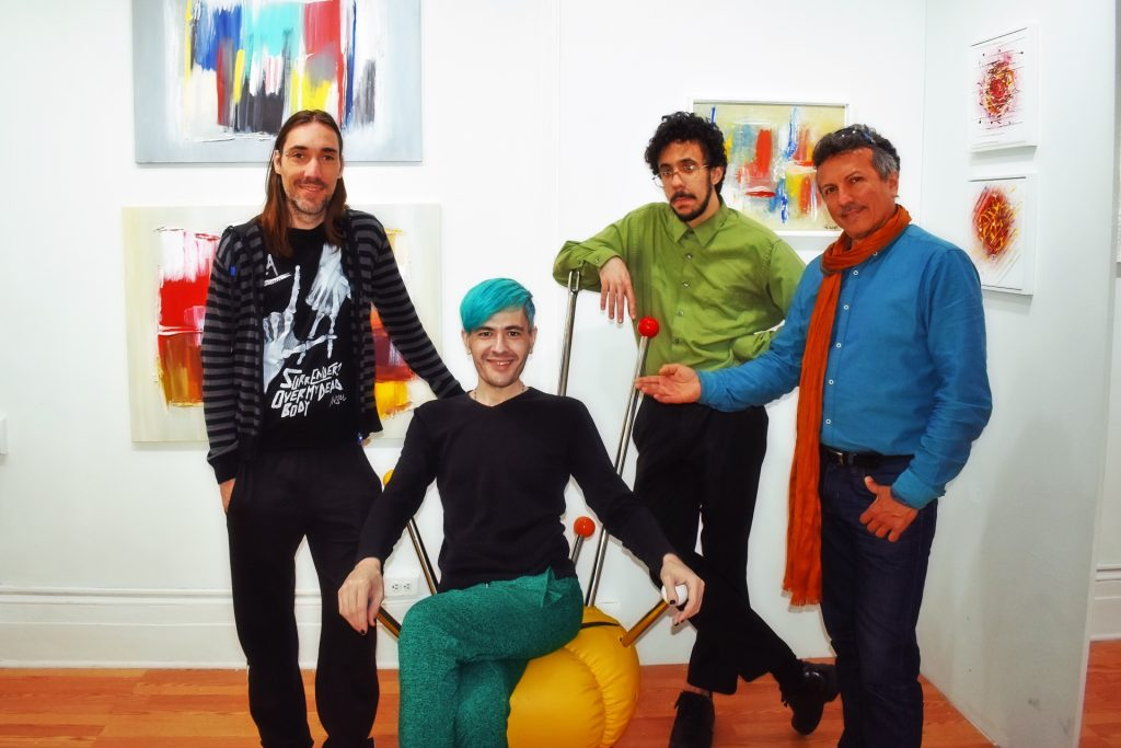 Artexpo New York 2018 - Pako Campo, Pablo Peña, Miguel Ángel Santana & Alberto at Saphira & Ventura Gallery