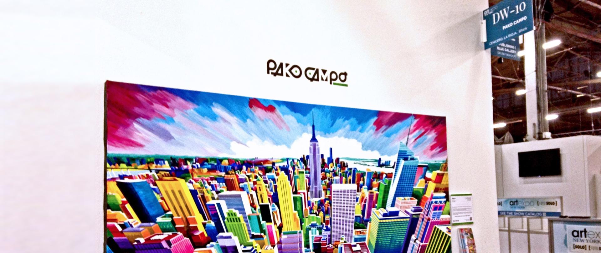 Artexpo New York 2018 - DW-10 - Pako Campo