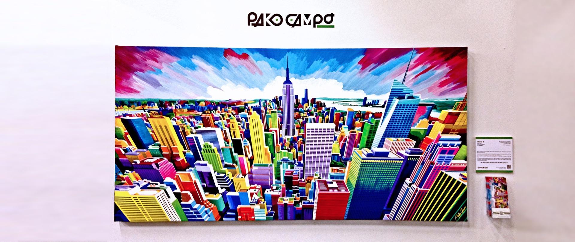 Artexpo New York 2018 - #NovaY - Pako Campo
