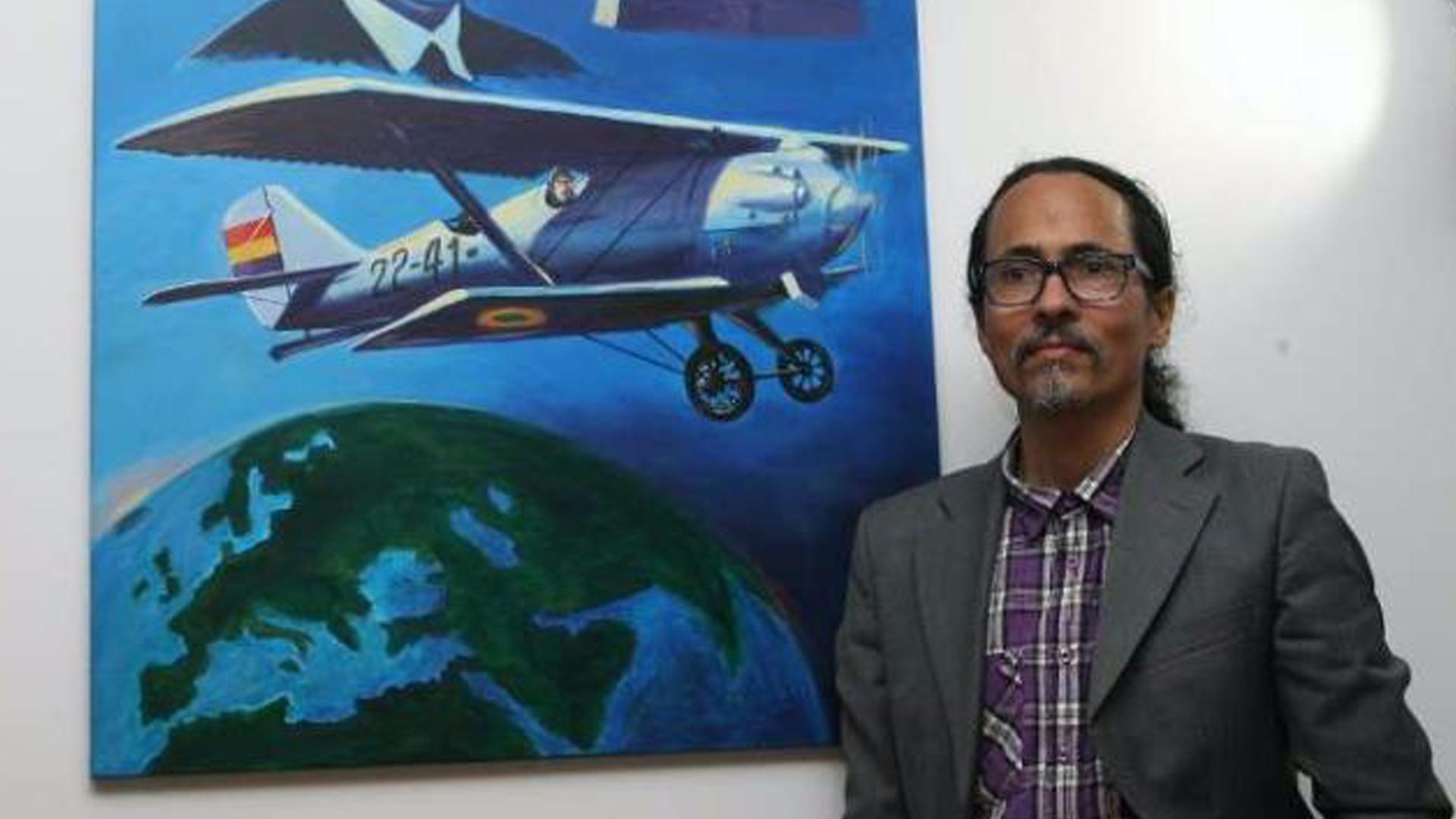 Faro de Vigo. La feria Artexpo de Nueva York selecciona una obra del pintor Carlos Santos