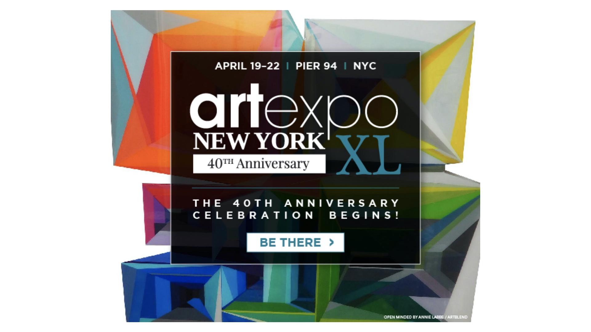 Artexpo New York Newsletter. Join us as Artexpo kicks off next week