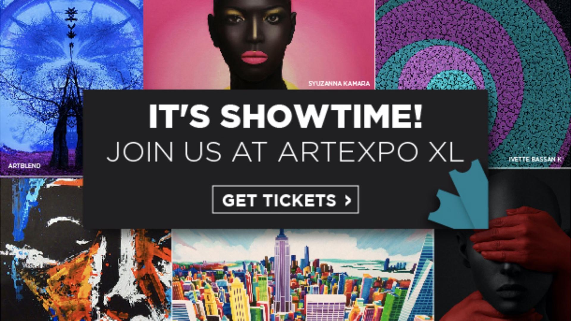 Artexpo New York Newsletter. It all starts tomorrow at Artexpo New York