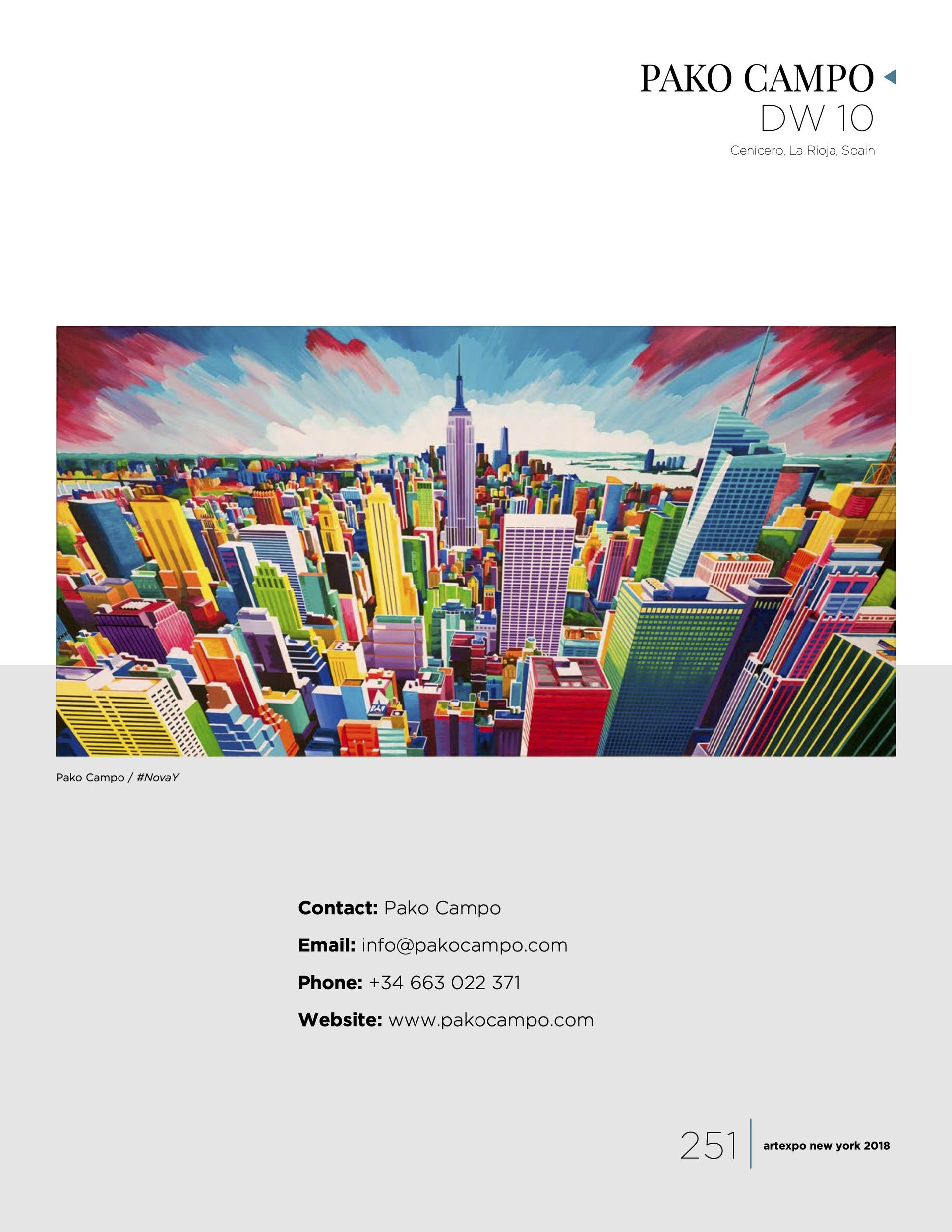 Artexpo New York. 2018 Show Catalog