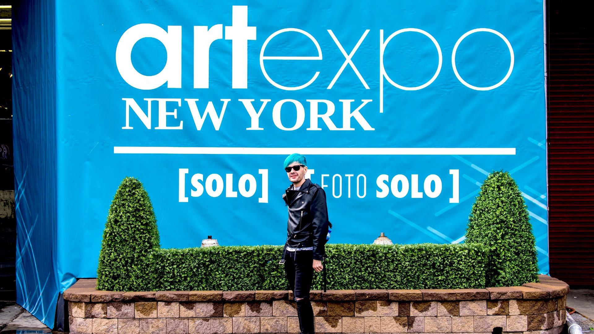 Haro Digital. Arranca el Artexpo New York con el riojano Pako Campo como único artista español independiente