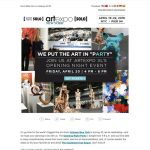 Artexpo New York Newsletter. Only two more days of Artexpo New York