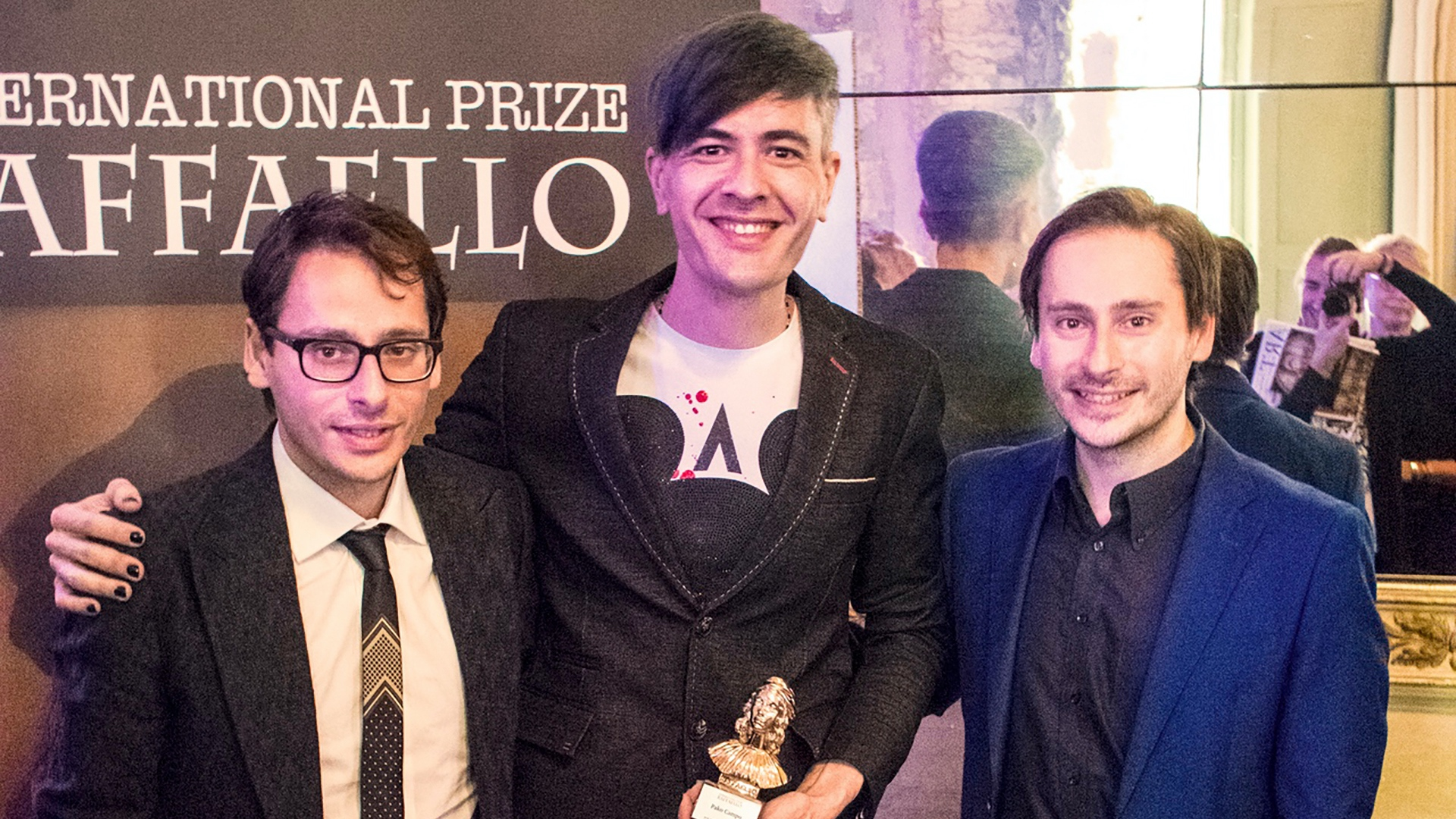 Pako Campo premio internacional de arte Raffaello