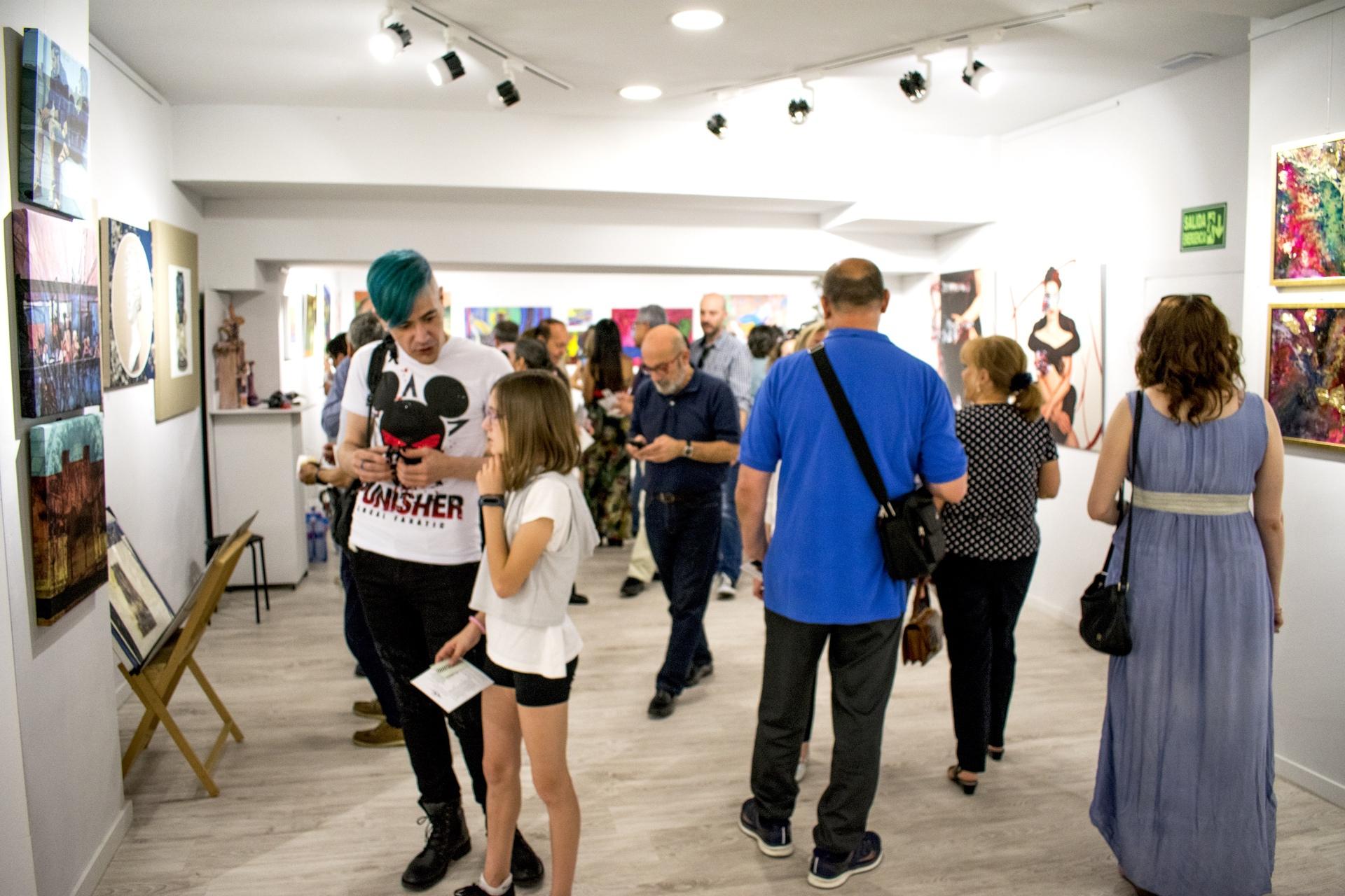 Primer aniversario de Santana Art Gallery - Pako Campo