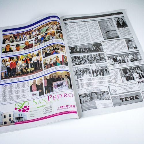 Diario La Voz del Najerilla. Pako Campo premio Raffaello en Italia (Printed edition)