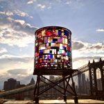 Watertower (2012) by Tom Fruin - Pako Campo