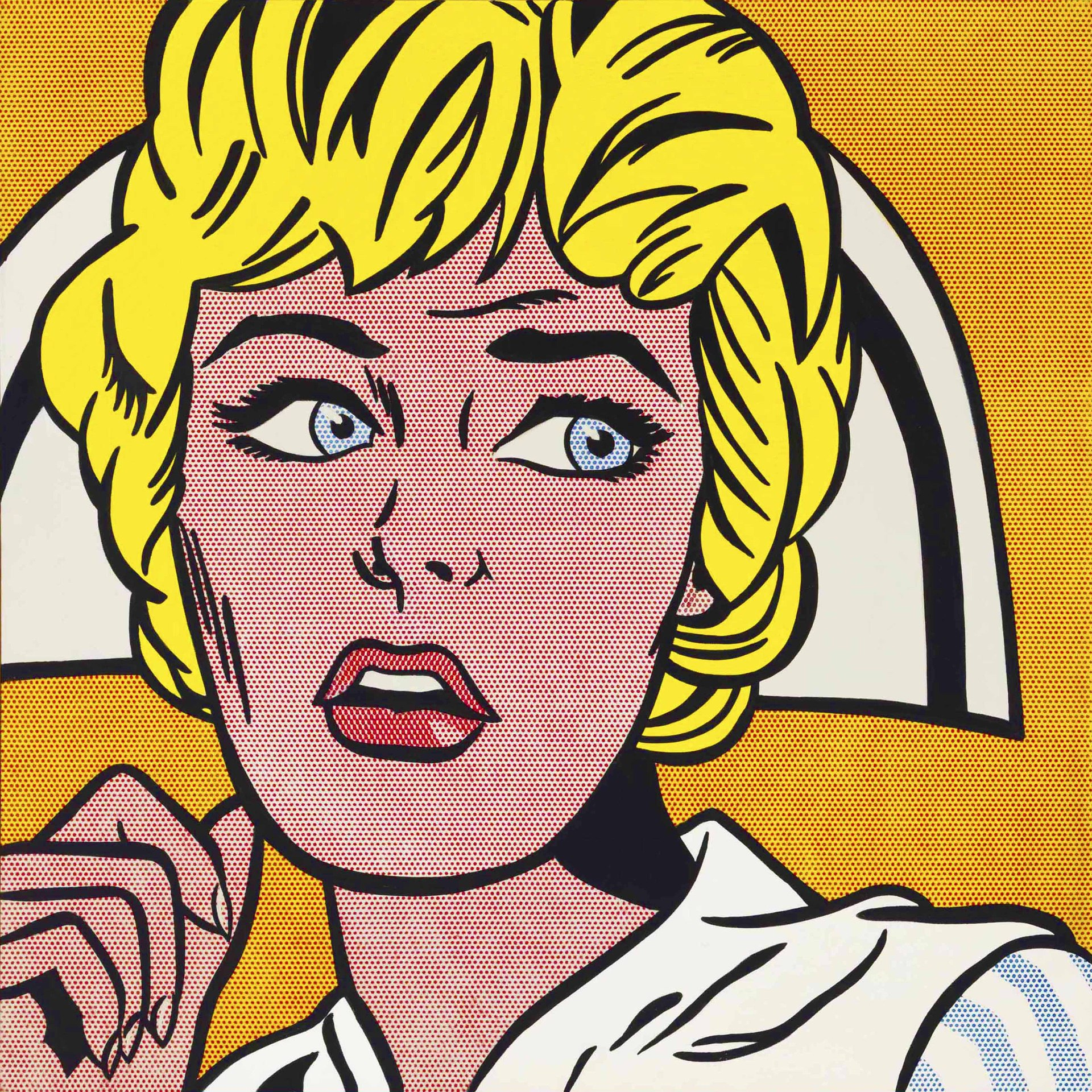 Nurse (1964) by Roy Lichtenstein - Pako Campo