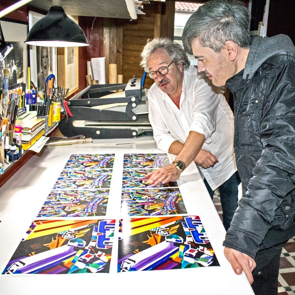 Giclée print - Artist proofs - Pako Campo
