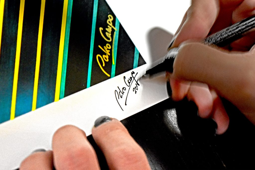 Giclée print - Artist signature - Pako Campo