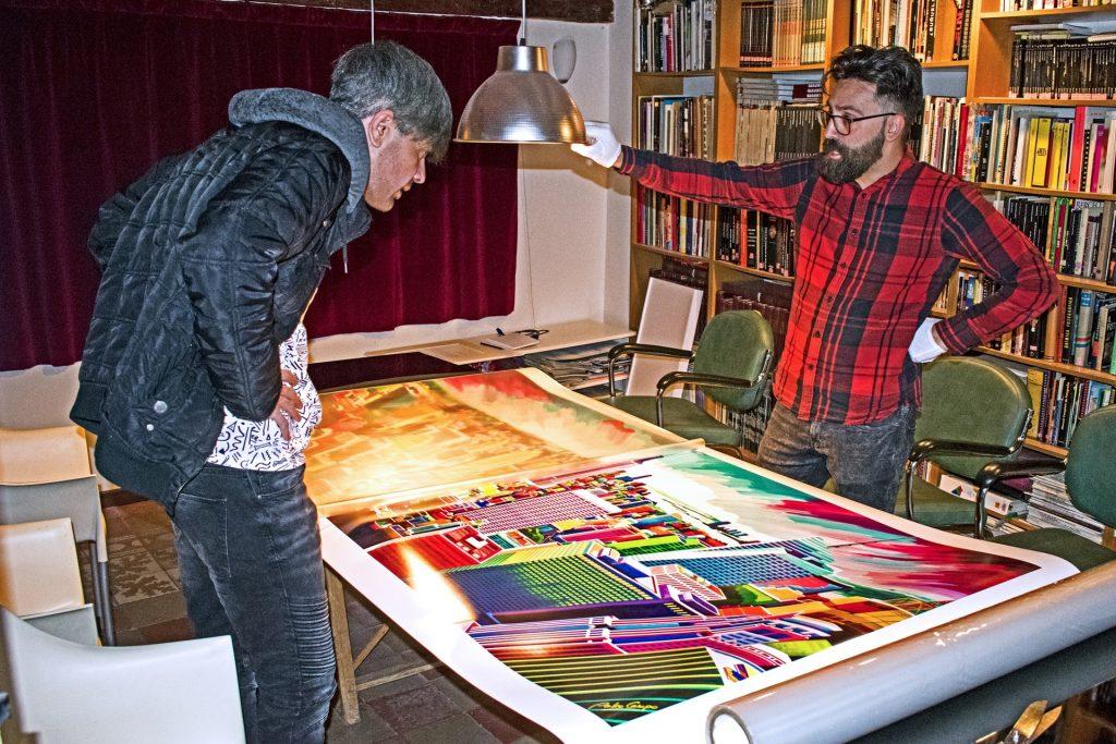 Giclée print - Final review - Pako Campo