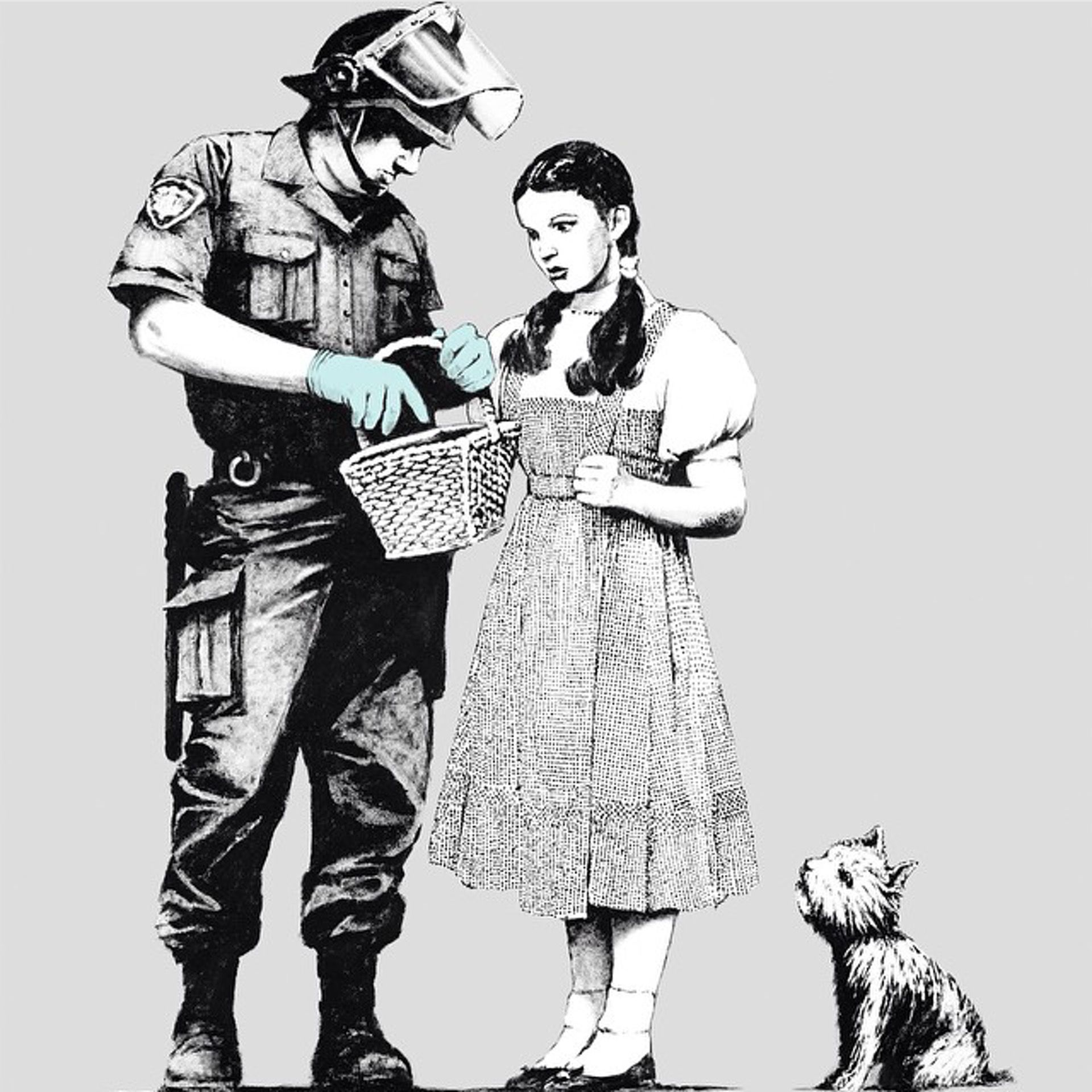 Stop and search (2007) by Banksy - Pako Campo