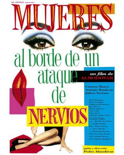 Poster of Mujeres al borde de un ataque de nervios (1988) by Juan Gatti - Pako Campo