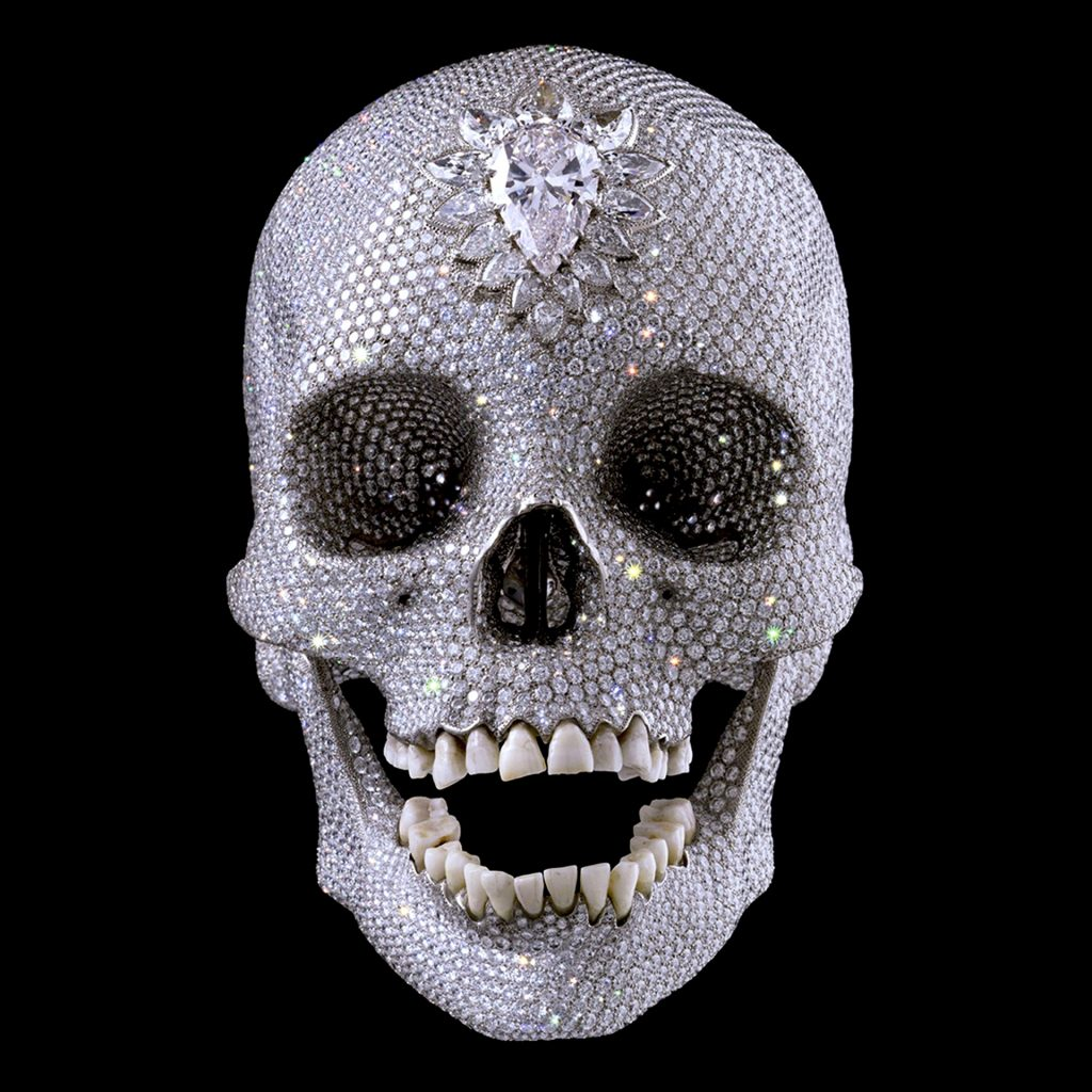 For the Love of God (2007) by Damien Hirst - Pako Campo