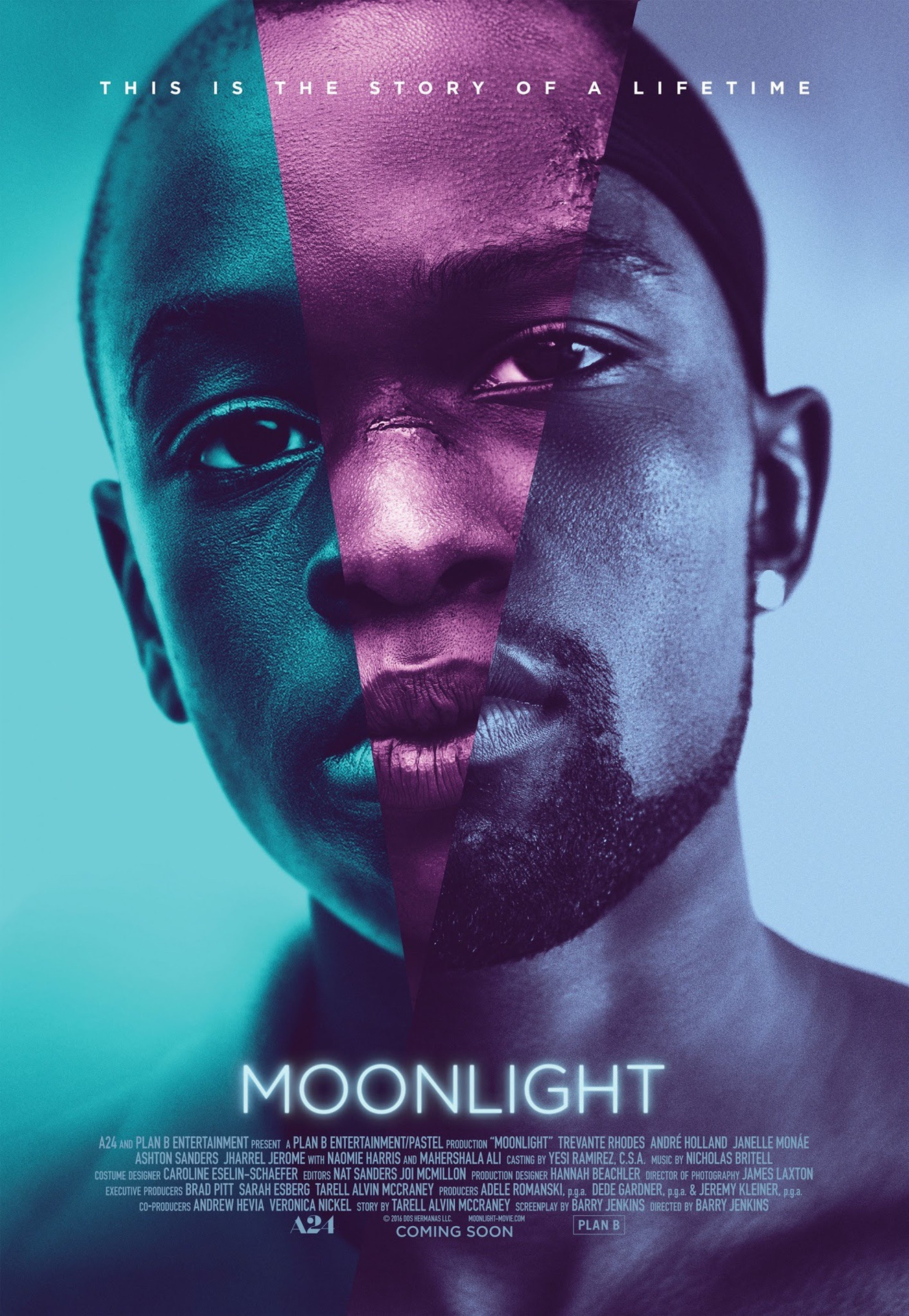 Moonlight poster design by InSync Plus - Pako Campo