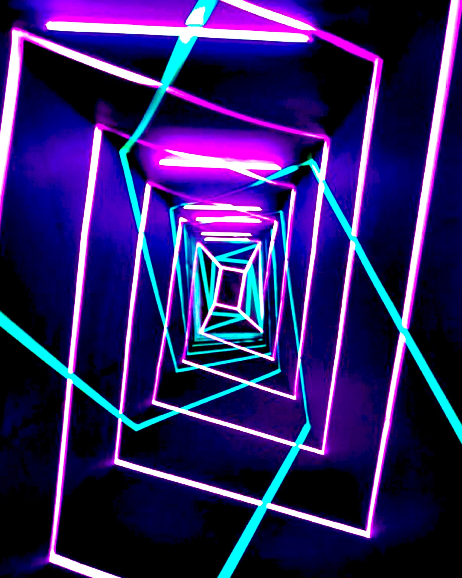 Neon Tunnel (2017) by Kitsch Nitsch - Pako Campo