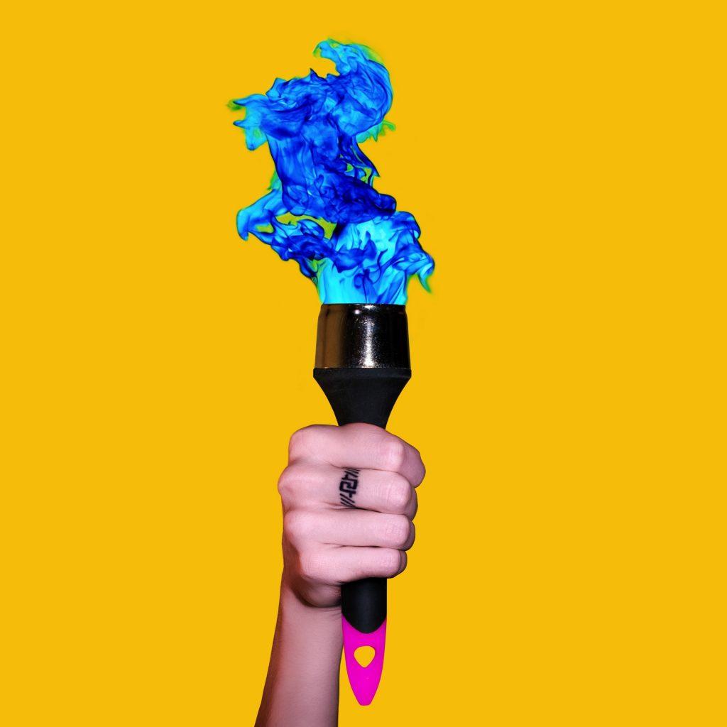 Torchbrush (2018) by Pako Campo