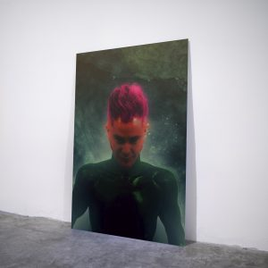 Ominous - Visual art on acrylic glass by Pako Campo