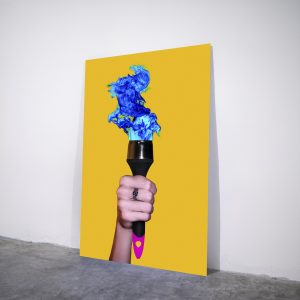 Torchbrush - Visual art on acrylic glass by Pako Campo