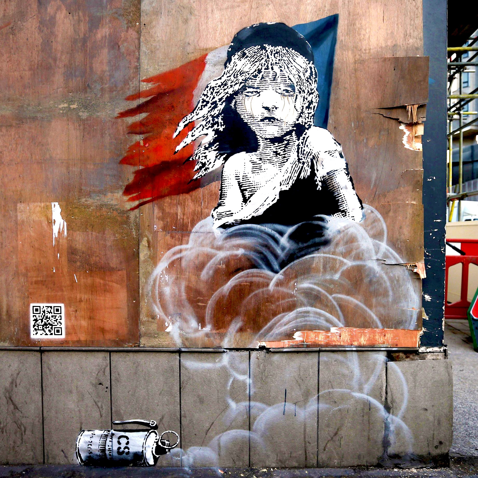 Calais (2016) by Banksy - Pako Campo