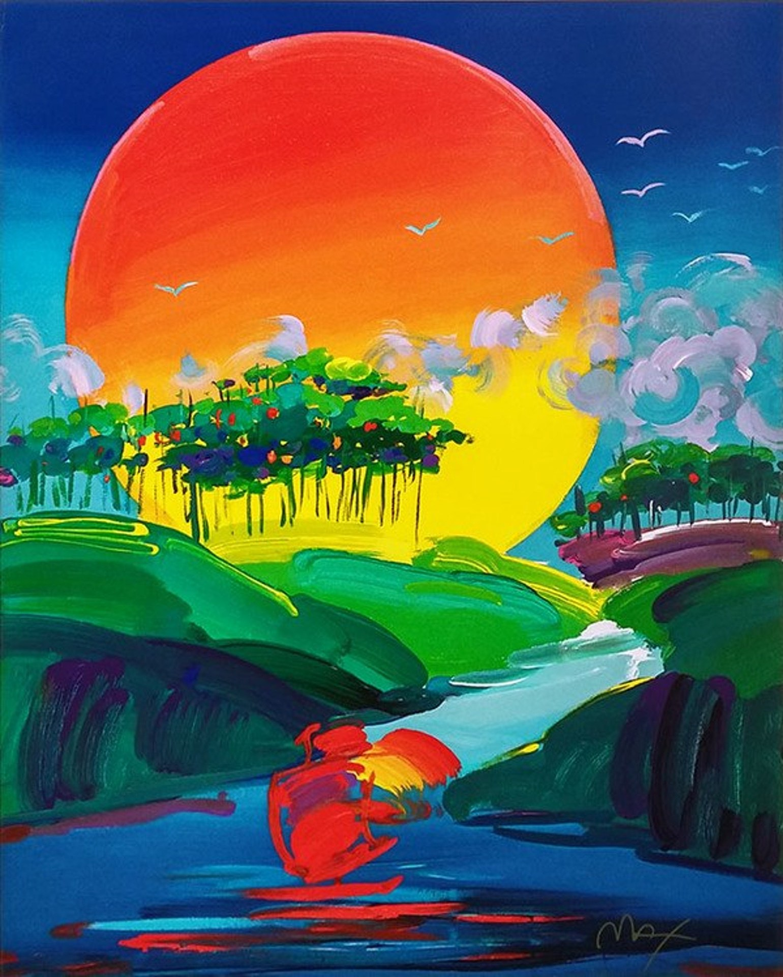 Without Borders (2011) by Peter Max - Pako Campo